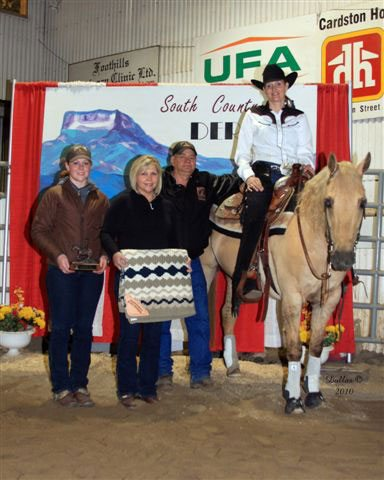 Gaylene Sawchuk & ???? win the NRHA Ltd. Open.