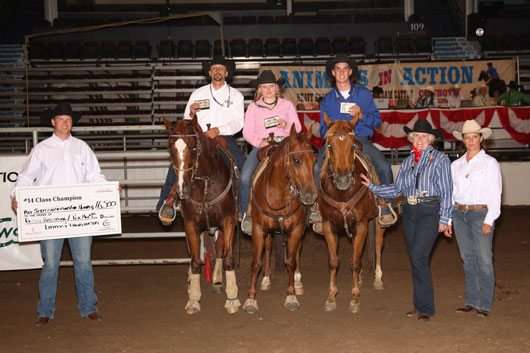 Team Penning Gets Off To Hot Start