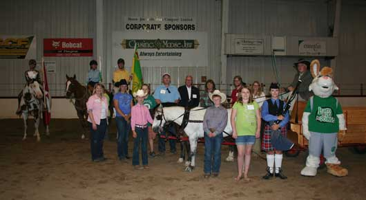 Sask youth equestrian games.