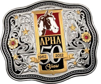 APHA 50th Anniversary Buckle