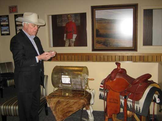 Calgary Stampede's Saddle Raffle