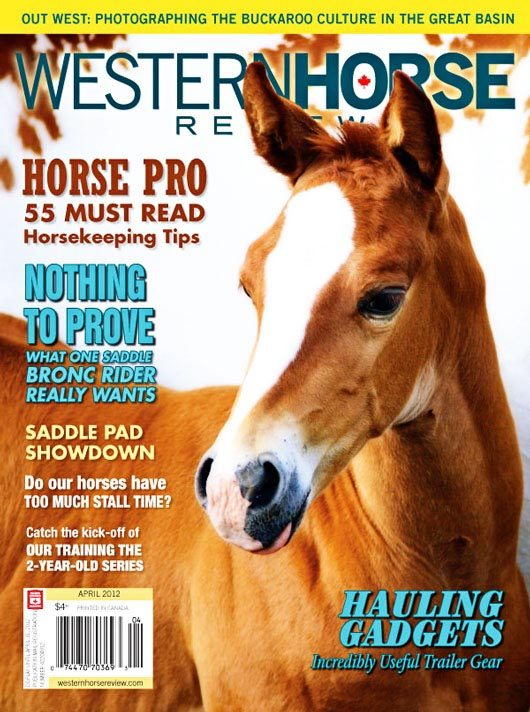 April Issue Western Horse Review