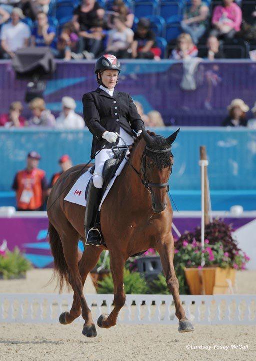 Lauren Barwick and Off to Paris Canadian 2012 Paraolympics