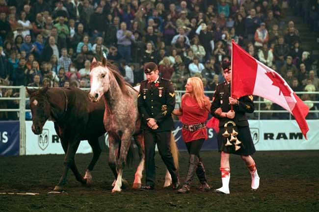 Niki Flundra Canadian Finals Rodeo Edmonton