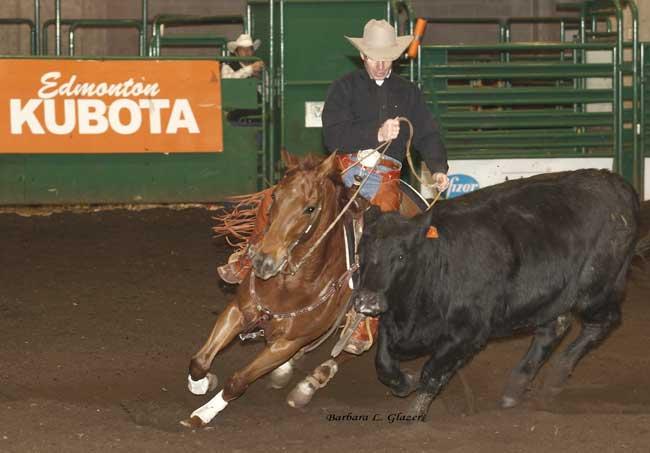 Brad Peterson Canada' s Greatest Horseman Farmfair Snaffle Bit Futurity
