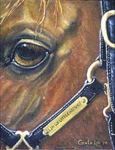Carol Lee Horse Artist Western