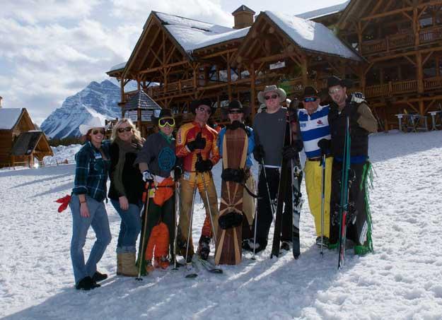 Ski Louise Stampede