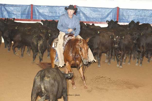 Moose Jaw Cutting Horse Open Derby - DFL Gaia, Clint Christianson