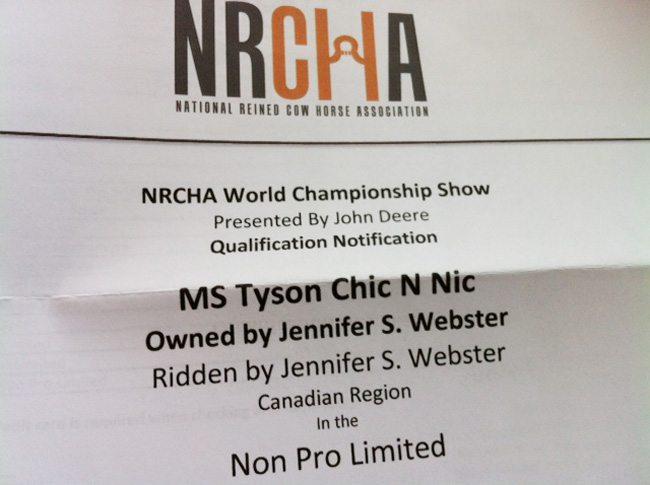 NRCHA-letter
