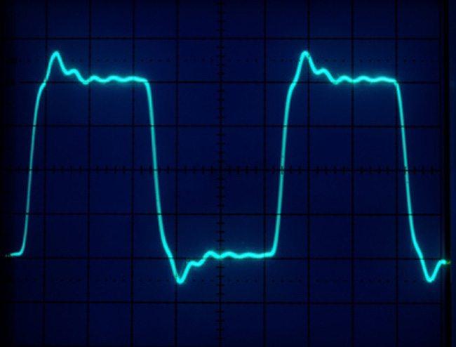 A full (square) pulse.