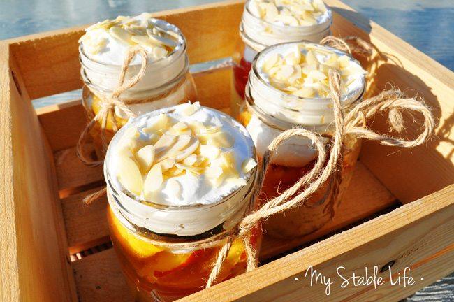 Peach Schnapps Summertime Dessert