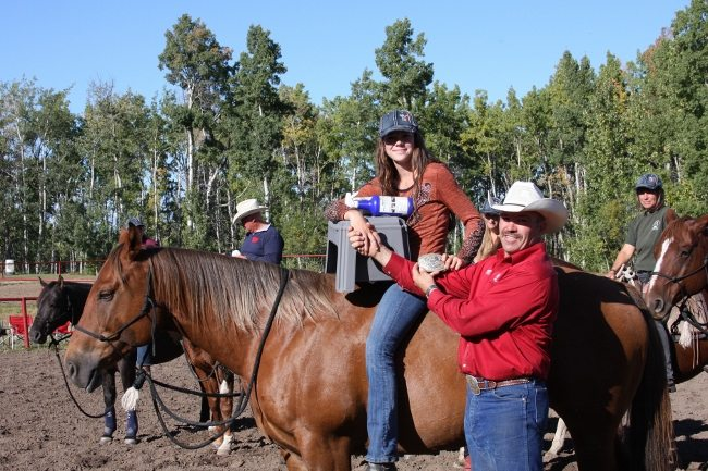 Natural Horsemanship clinician Glenn Stewart leads this challenging event, culminating in the obstacle and task competition.