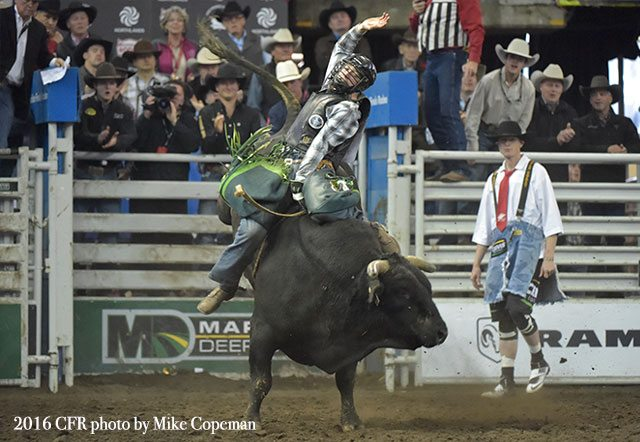 Champions Crowned at Canadian Finals Rodeo