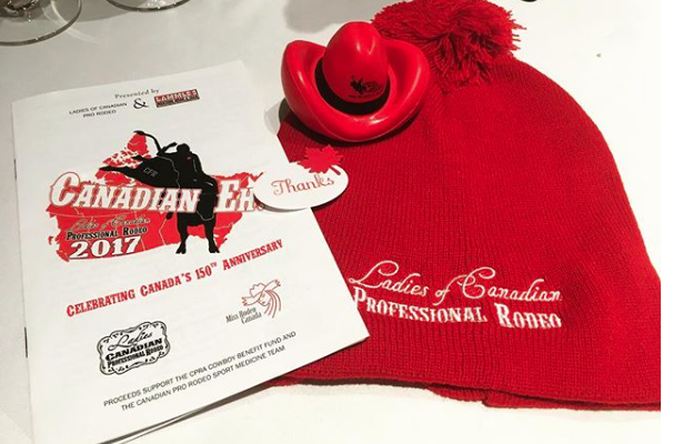 Canadian Eh? 2017 Ladies of Canadian Pro Rodeo Fashion Show & Luncheon