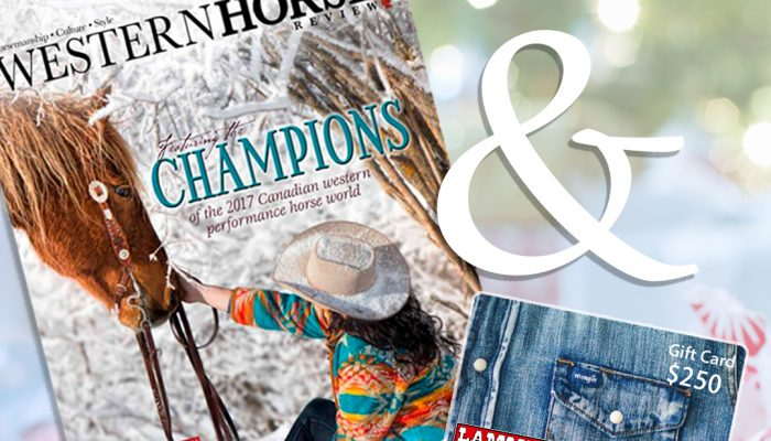 WHR & Lammle's Western Wear Holiday Giveaway