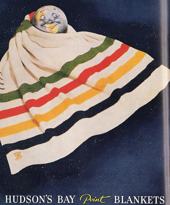 Hudsons Bay Point Blanket A Brief History