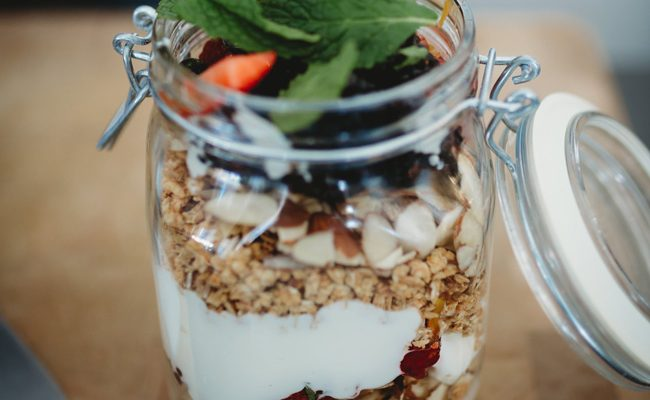 Yogurt Parfait Breakfast