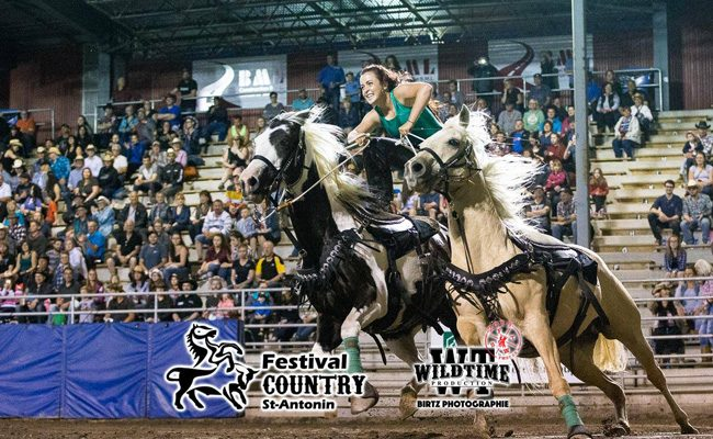Trick Rider Extraordinaire: Noemy Coeurjoly